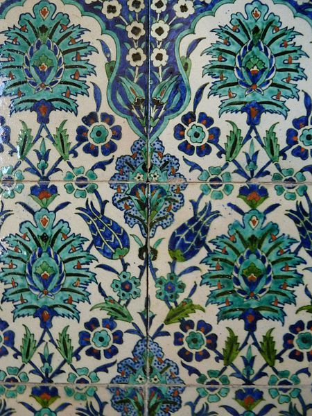 קובץ:Armenian tiles at St. Andrew's Guesthouse, Jerusalem  P1130741.JPG