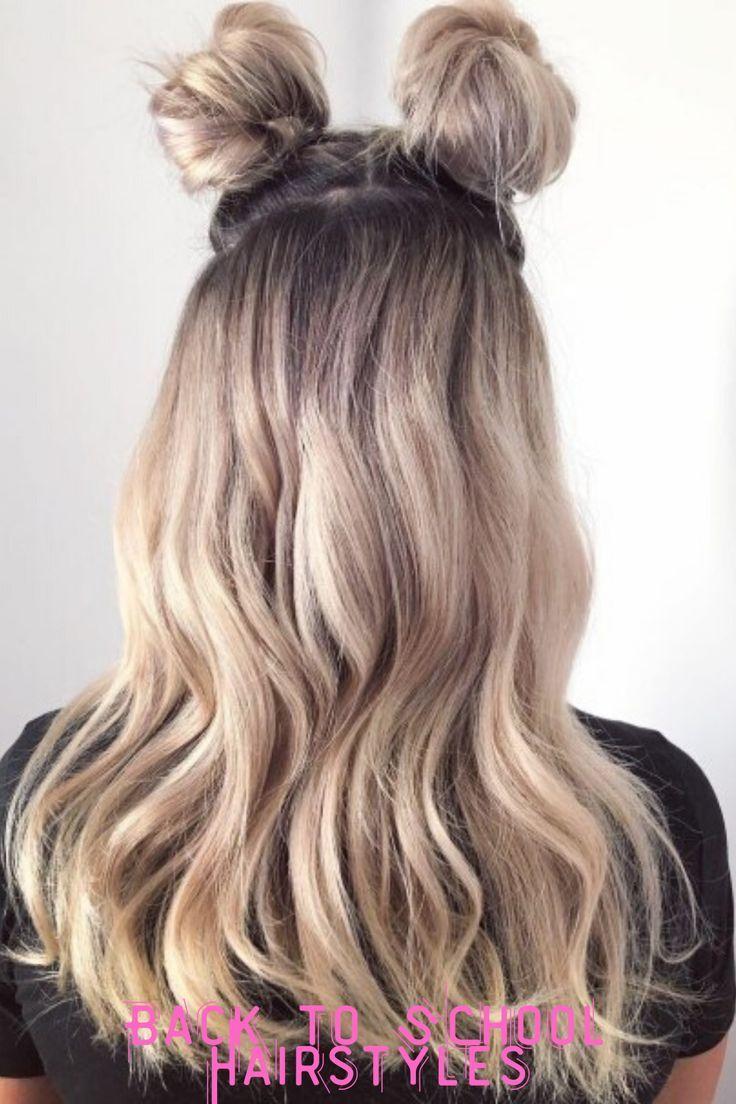Easy Back To School Hairstyles In 2020 Cute Simple Hairstyles Hair Styles Cute Hairstyles Long