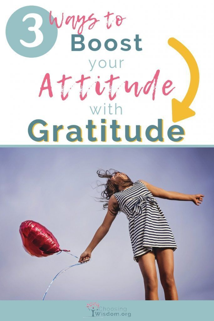 GRATITUDE Click here to discover 3 ways to boost your attitude with gratitude. #…