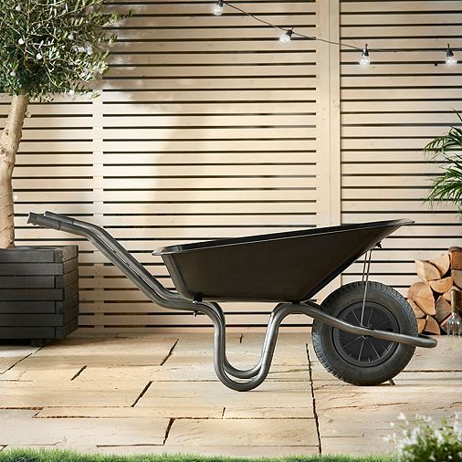 Tesco direct: VonHaus 85L Heavy Duty Wheelbarrow with Pneumatic Tyre