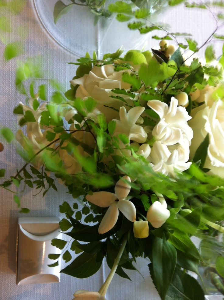 Textural flowers and foliages.  by Flower Jar