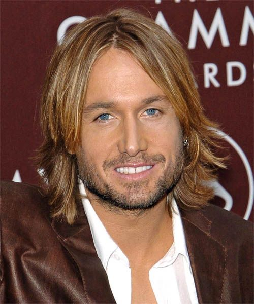 Keith Urban Hairstyle - Long Straight Formal - | TheHairStyler.