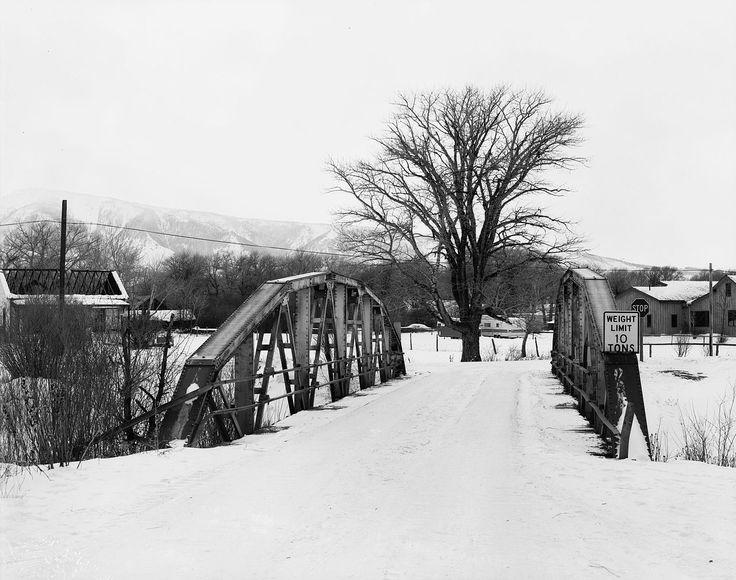 DFU Elk Mountain Bridge in Carbon County, Wyoming