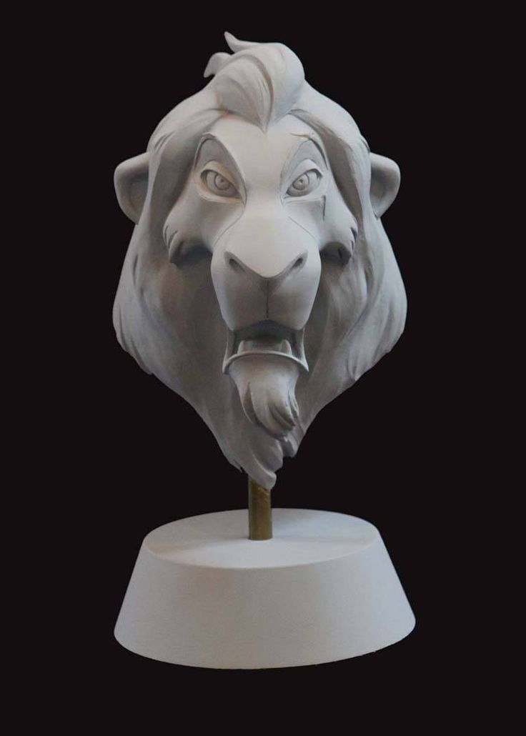 Disney maquette sculptures by artist Kent Melton, made during the development of the films - Album on Imgur
