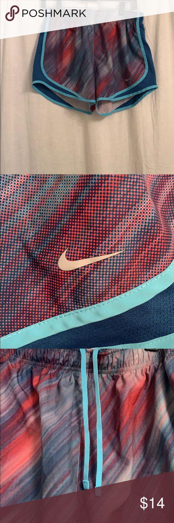 Nike Dri-fit work out shorts Brand new work out shorts with compression underwea…