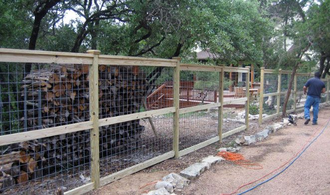 how to build a wood fence for livestock