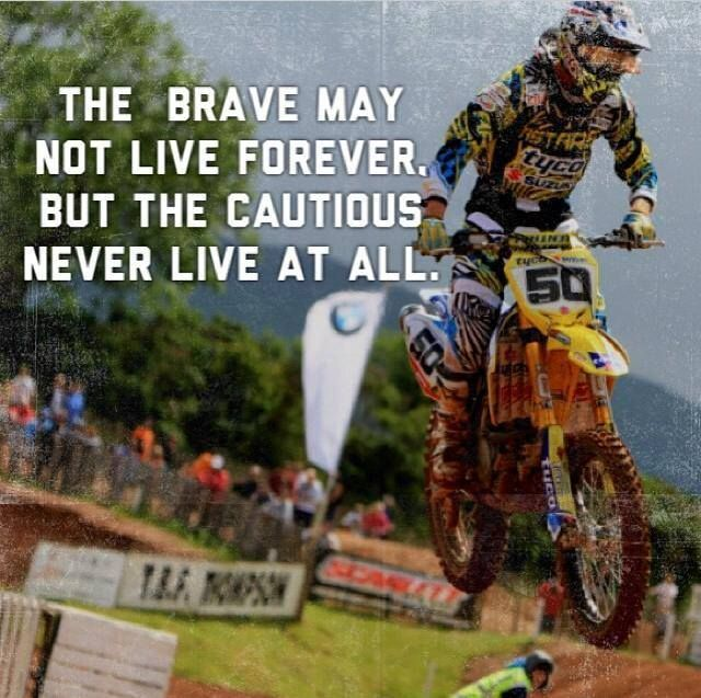 Most Moto Cross riders do very well in life. What kills them ? The same crap that kills every one else. But it's almost never the racing that causes it .