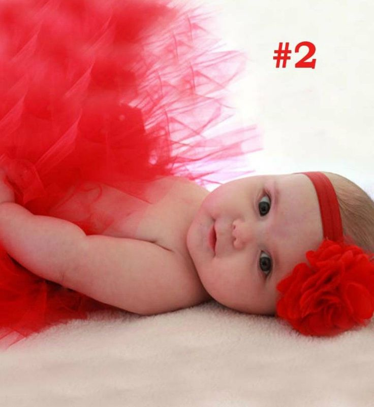 Red Tutu Skirt & Headband