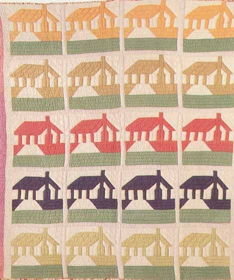 Honeymoon Cottage, 1935. Ruby S. McKim pattern.
