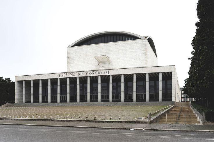 Palazzo dei Congressi in EUR, Rome, Italy