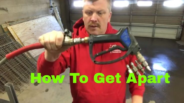 How to disconnect Pressure Washer Hose Accessories