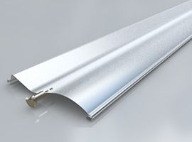 vonkajšie žalúzie S93 - silver