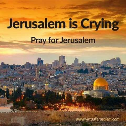 "Psalm 122:6 (NIV).  ""Pray for the peace of Jerusalem.  May those who love you be secure."""