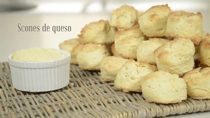 Scones de queso - Maru Botana