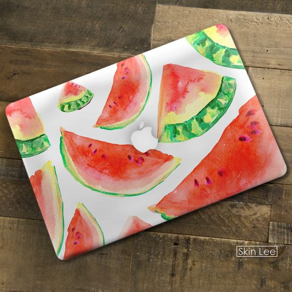 WATERMELON MAC Decal Mac Sticker Mac Book Pro Case Mac Book