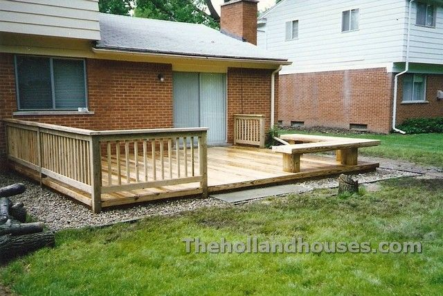 Deck Designs For Ranch Homes