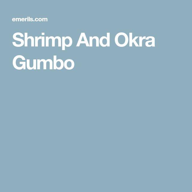 Shrimp And Okra Gumbo