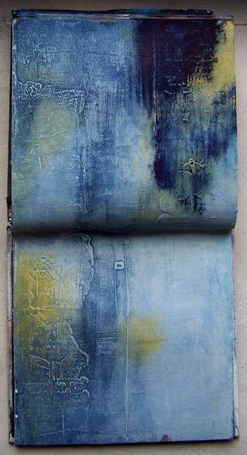 I'm searching III, carnet de travail Pigments. By Élisabeth Couloigner