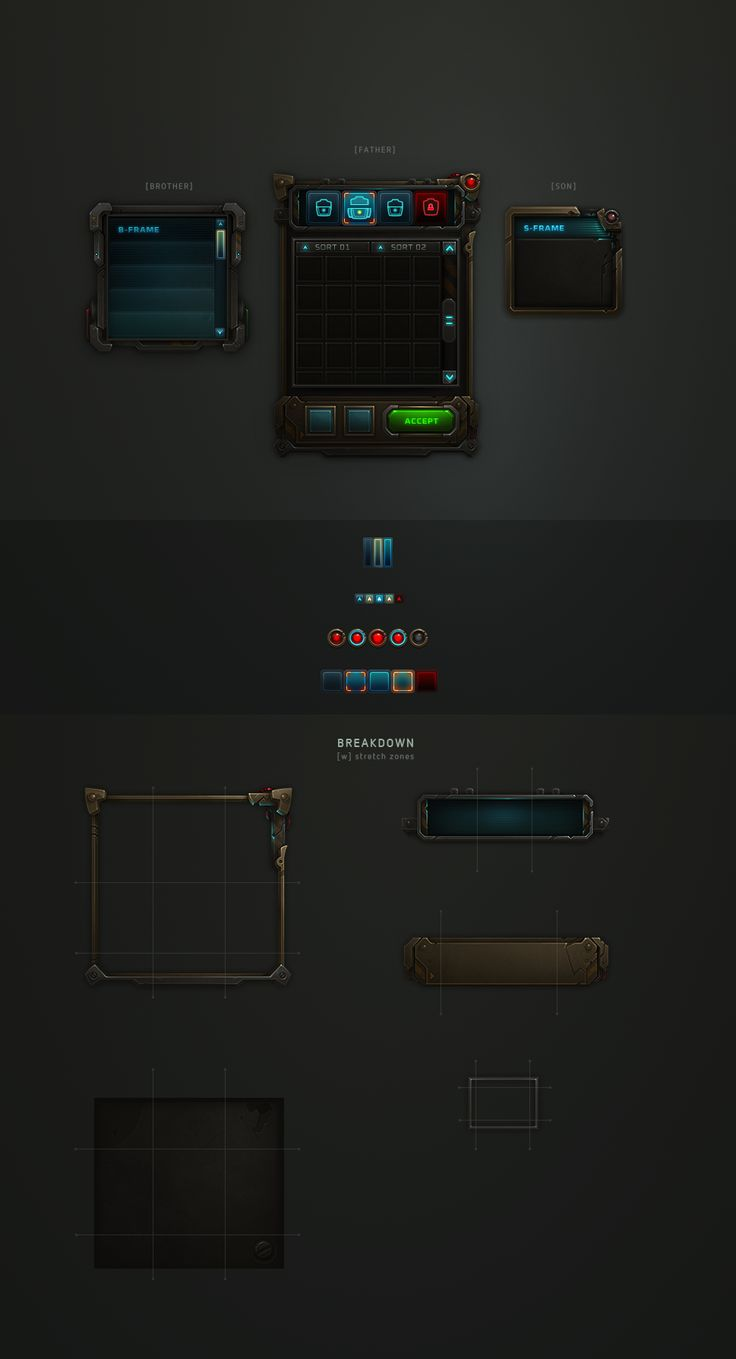 Awesome game UI design