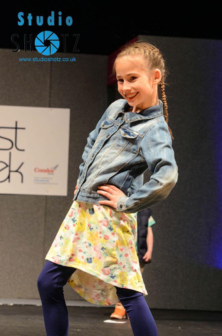 Children's Fashion Show at South Coast Fashion Week 2014