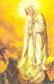 NOSSA SENHORA DE FÁTIMA-PORTUGAL AOS PASTORINHOS LÚCIA, FRANCISCO E JACINTA - JESUS, MARIA E JOSÉ NAS APARIÇÕES DE JACAREÍ-SP-BRASIL