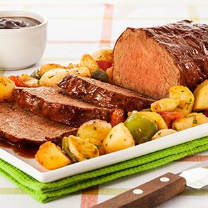 Filé de costela com barbecue