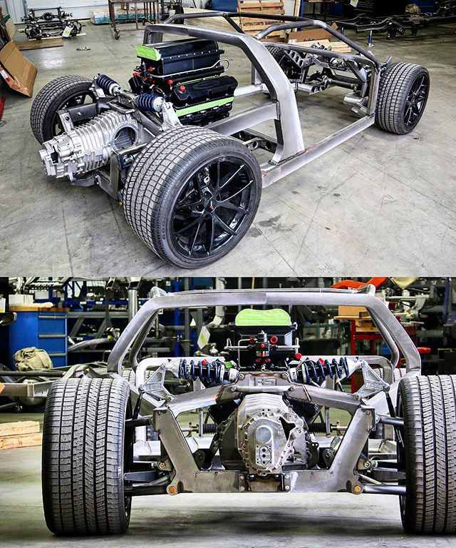 More @nelsonracingengines X @roadstershop custom Pantera chassis awesomeness. Full chassis build gallery at www.roadstershop.com/galleries/nre-pantera #pantera #nelsonracingengines #custom #roadstershop #roadstershopchassis #detomaso #twinturbo #1500hp #customchassis #penskeracingshocks #penske