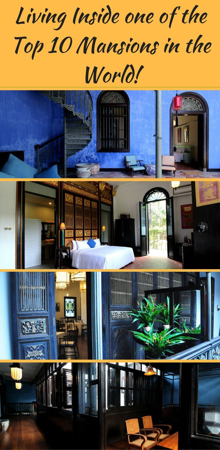 Have you ever lived inside a mansion? During my recent visit to Penang, I had a chance to live inside a UNESCO world heritage site and a luxury mansion -  Cheong Fatt Tze Mansion. If you want to live like royalty for few days, You MUST check this out. Click for pics of interiors and the lovely indigo blue mansion.