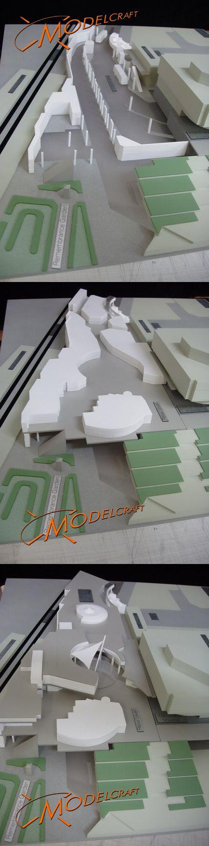 1:300 Chatswood Interchange. Architectural Model by Modelcraft (NSW) Pty Ltd