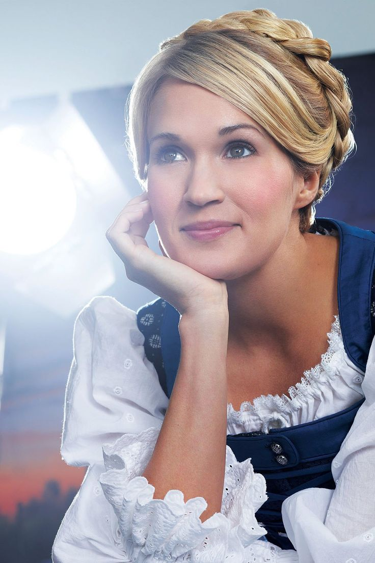 CROWNING GLORY: Milkmaid Braids from runway to Broadway. As Carrie Underwood plays the classic role of Maria von Trapp in The Sound of Music, this trend will live on and on.