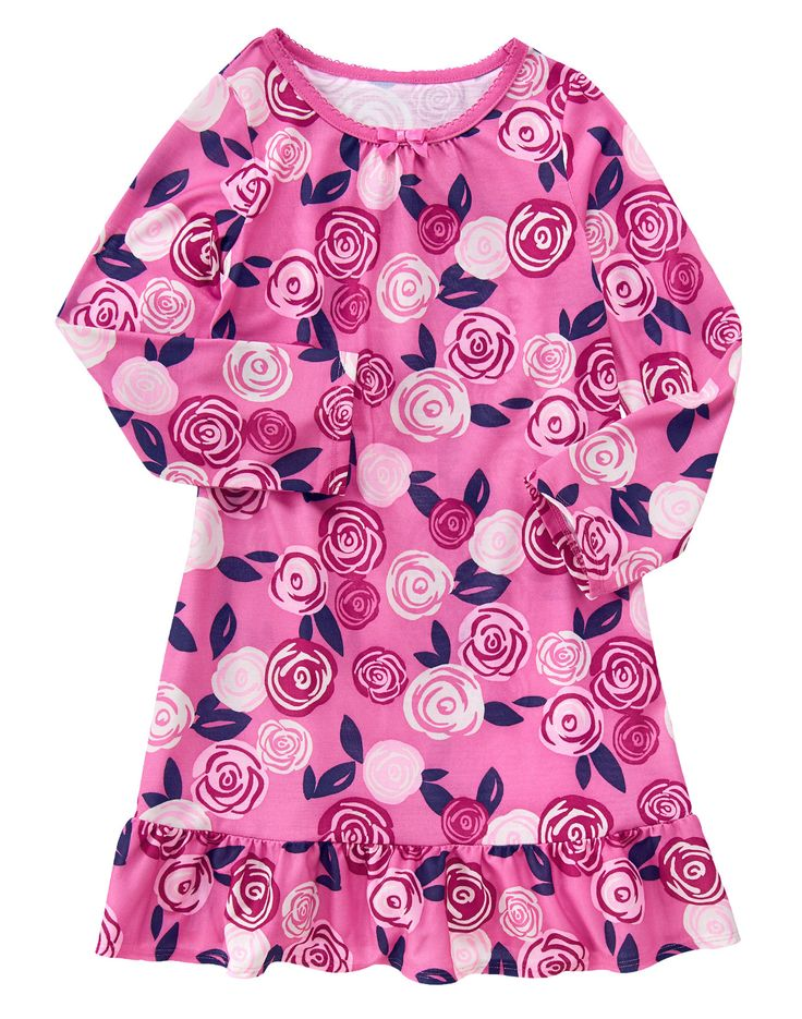 Sweet Roses Nightgown at Gymboree