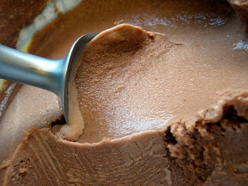 Chocolate Coconut Milk Ice Cream- 2-3 tablespoons cocoa powder (organic if possible),   2 cups coconut milk,  pinch sea salt,  1/4 cup honey,  1 T vanilla extract (homemade if possible),  4 egg yolks