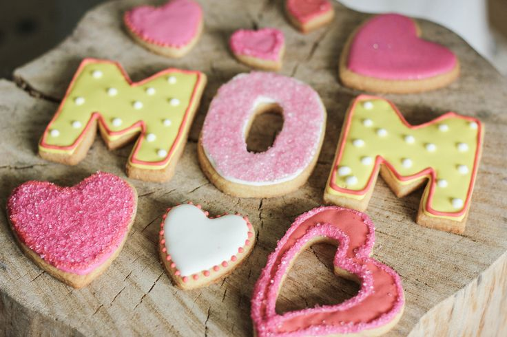 Sugar Cookies Mothersday   Baking Lou