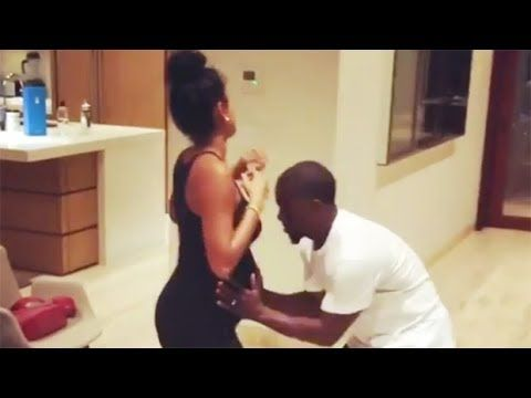 Watch Kevin Hart & Wife Eniko Parrish Brush OffCheating Rumors With Sexy...