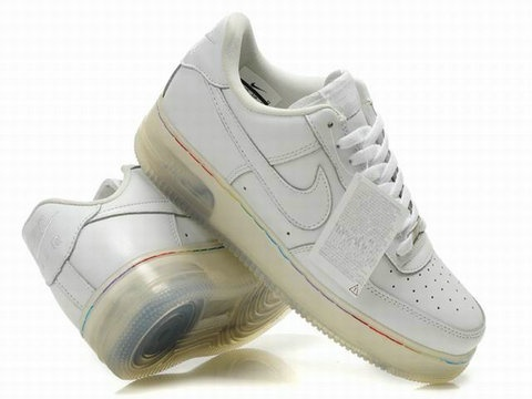 Nike Air Force One Light Up White Shoes
