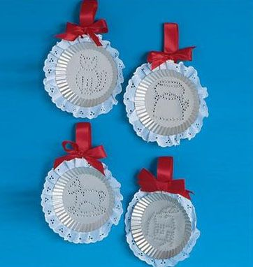 Tin Punching Lesson Plan: Recycling for Kids - Art on a Shoestring (Making art from recycled materials) KinderArt
