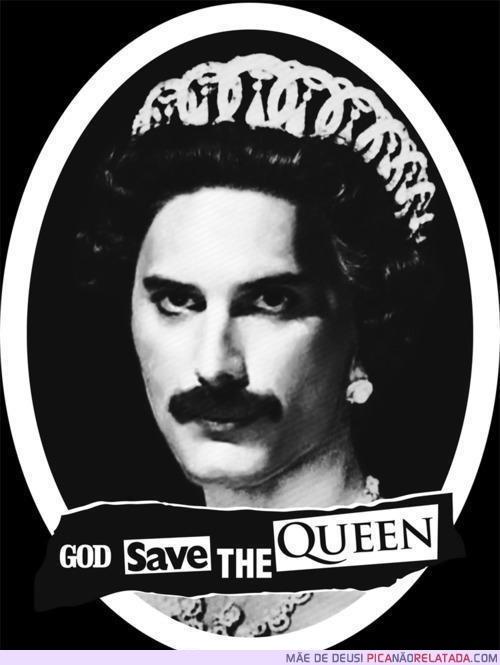Freddie, la Reina. Yo creo q la realeza inglesa debio condecorarlo. A esta Diva de buen carácter.