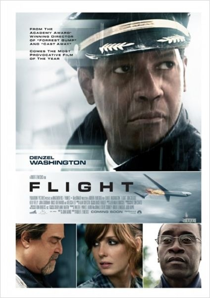 Flight - Denzel Washington lead role in an excellent movie.