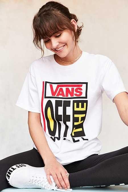 Vans & UO - T-shirt Old Skool