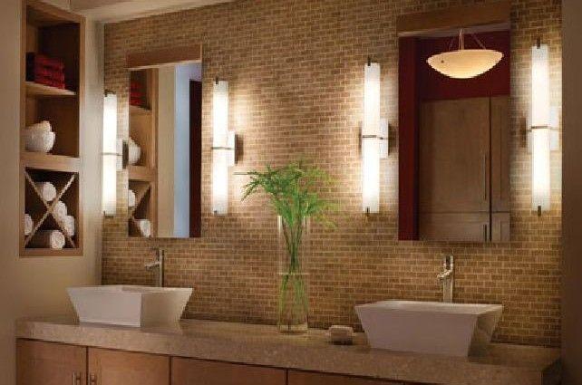 Superb Bathroom Mirror And Lighting Ideas