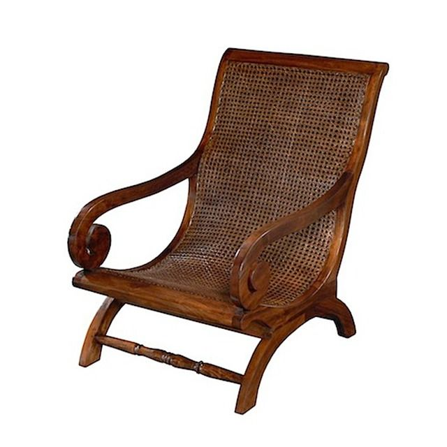 Rattan chairs 56501 lazy chair rattan teak 62x95x90cm for Cane and wicker world