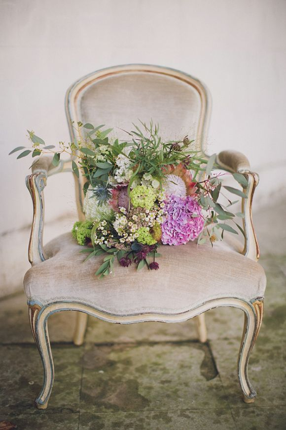 Rustic fall colored bouquet