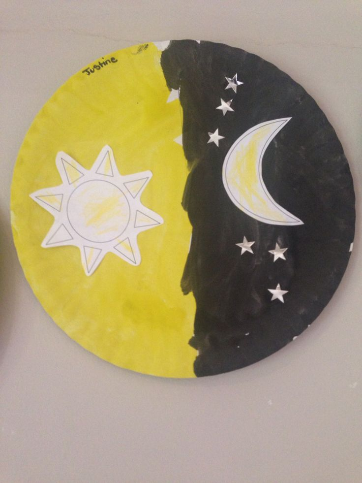 Theme opposites : day and night