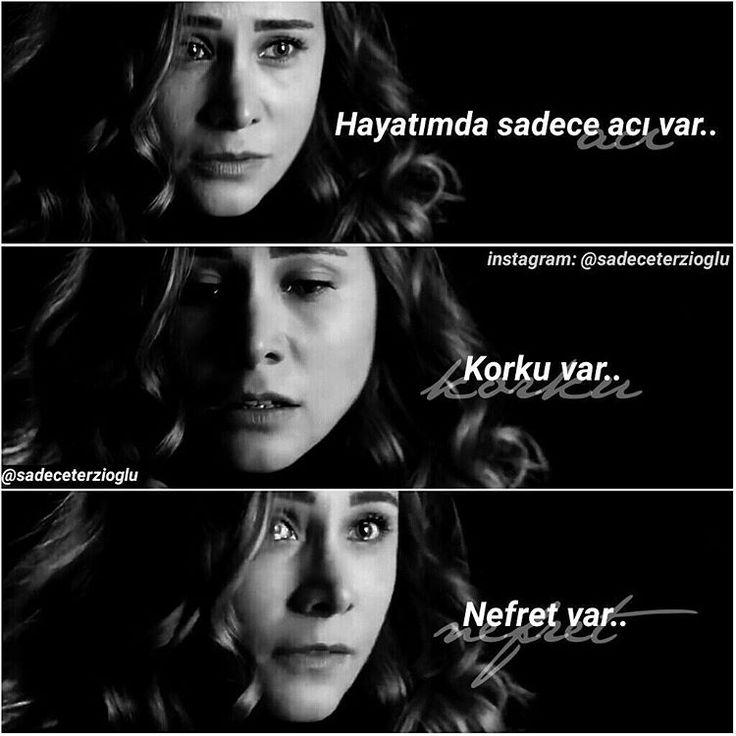"""""""• """"Acı..Korku..Nefret.."""" • Duygu dolu bakışlar · - @burcinterzioglu #Ayşegül #BurçinTerzioğlu #PoyrazKarayel #Merhamet #KanalD ~Melis"""""""