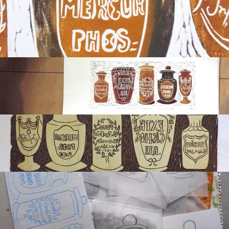 Printing apothecary jars in Transylvania