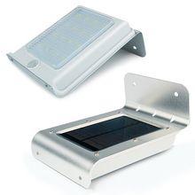 Extérieur étanche 16 LEDs solaire propulsé Motion Sensor jardin sécurité lumière