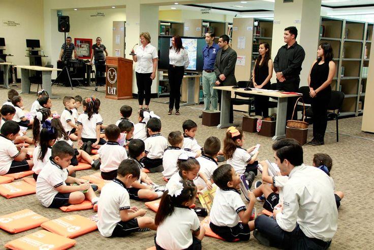 Celebra Biblioteca Central de la UAT Primer Aniversario