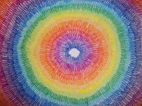 we heart art: Spectrum Color Bursts!
