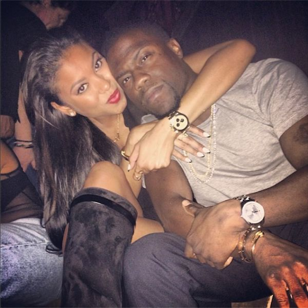 Kevin Hart Girlfriend Eniko Parrish