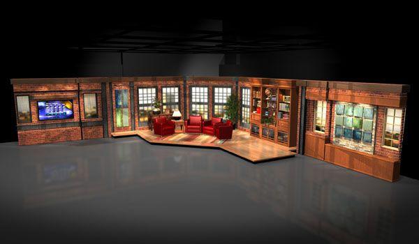 Talk Show Set Design Google Search Tv Sets Pinterest